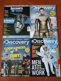 Discovery Channel magazines