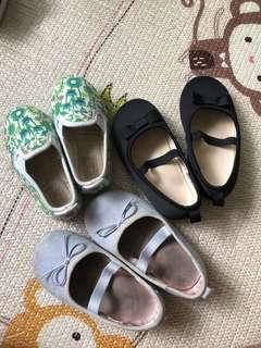 H&M Flats and Flossy Size 20-21