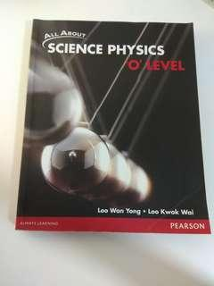 All about Science physics Textbook