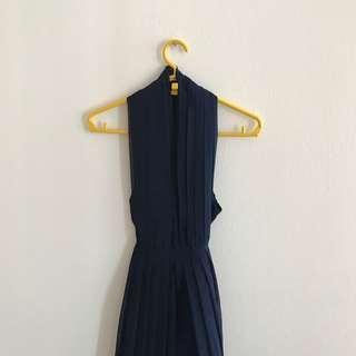 Marilyn Monroe Navy Blue Style Dress