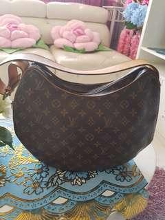 Authentic Louis Vuitton Monogram Croissant GM Shoulder Bag