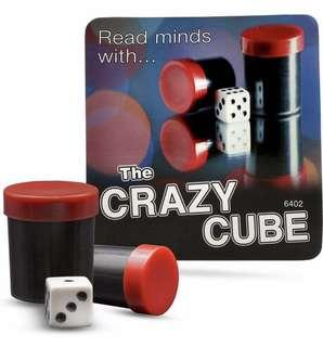Crazy mind reading dice cube