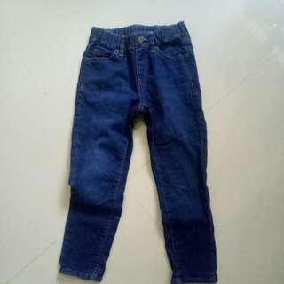 Children Long Jeans From Uniqlo/ In Good Condition