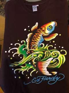 Ed Hardy Koi Fish Shirt