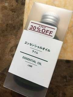 Muji Essential oil lime 30ml 無印 香薰油