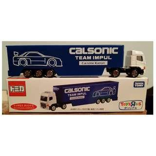 Tomica Long Series Calsonic Impul Truck White Tractor Head Toys 'R Us Exclusive
