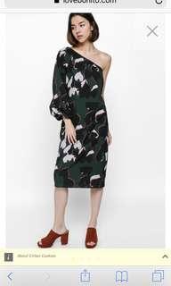 Love bonito eldrina toga midi dress