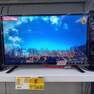 Promo Kredit Tv Led 32inch Polytron. Bunga 0%