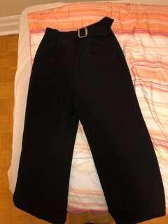 Maje high waist, Wide legged Pants