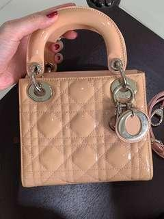 Authentic Dior Lady Mini in excellent condition