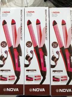 Curl and Straight 2 IN 1 Hair Beauty Set