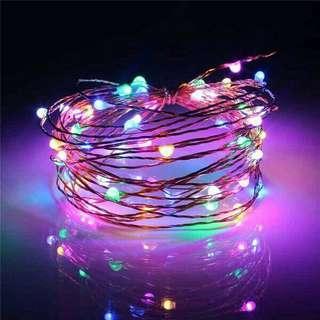 INSTOCK Fairy Christmas Lights LED Rainbow 3M 10M