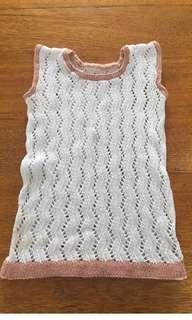 Vintage knit top size 6