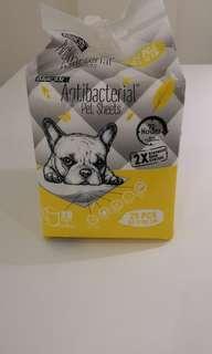 Absorb antibacterial pet sheets  60 x 90 cm 25 pcs