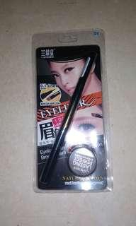 eyeliner + eyebrow 2in1