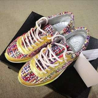 Authentic Chanel Sneakers