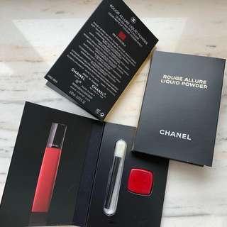 Chanel Rouge allure 💄 velvet extreme sample 極緻啞光柔滑唇膏 試用裝