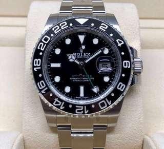 BNIB Rolex GMT-Master II 116710LN