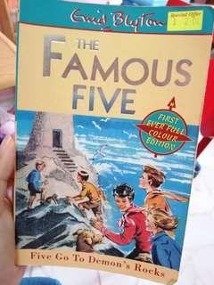 Famous five-Five go to demon's rock
