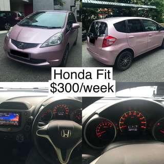 Honda Fit For Lease