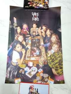 twice yes or yes poster instock