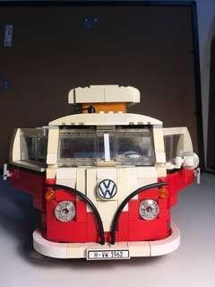 Authentic Lego 1962 Volkswagen Camper Van Replica