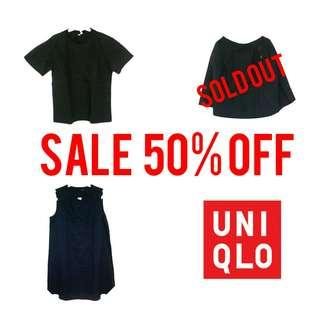 SALE - UNIQLO 50% OFF
