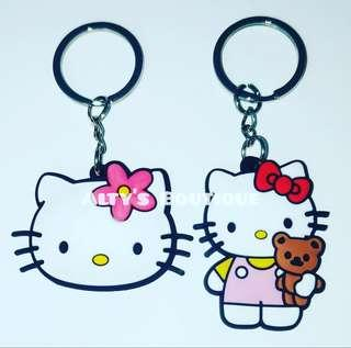2x Hello Kitty Keyrings