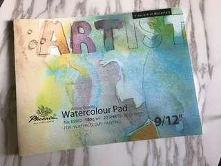 Artists' quality Watercolour pad (20 sheets)