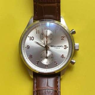 Jam Tangan Pria William L 1985 Brand New Men's Watch