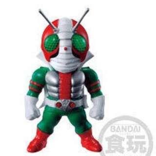 全新未開 Converge Kamen Rider Part 12 No 70 V3 幪面超人 拉打 食玩 盒蛋 1 盒