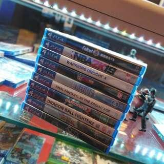 PS4 NEW GAMES