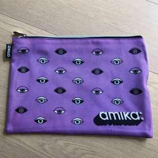 (包郵) 全新Amika 拉鏈袋