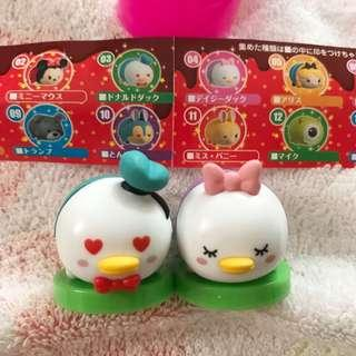 Disney tsum tsum Donald daisy set