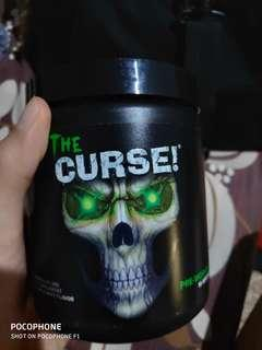 The curse pre work-out
