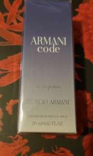 ARMANI code 20ml