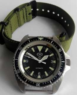 CWC Automatic Military Diver Watch