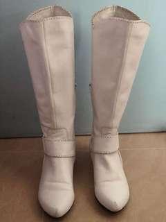 Union 女裝白色Boots