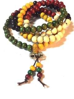 Mala beads bracelet / necklace