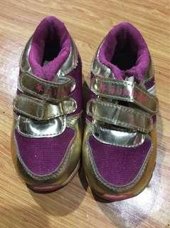 Pink rubber shoes