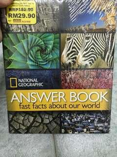 Answer book fast facts about our world
