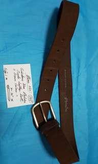 Giordano Italian Suede Leather Belt