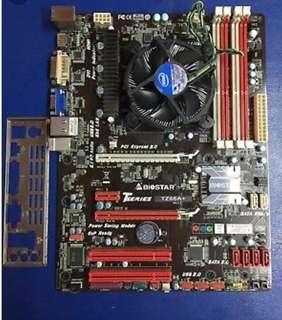 Intel I3 2120 @3.3ghz & biostar tz68a+