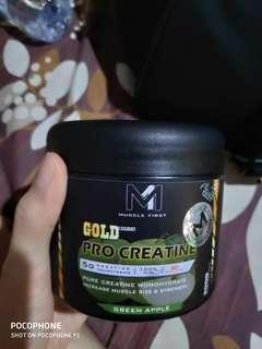 Muscle first pro creatine gold series