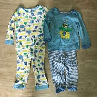 Both for $8 Bundle of Like New Baby Clothes 12-18 months