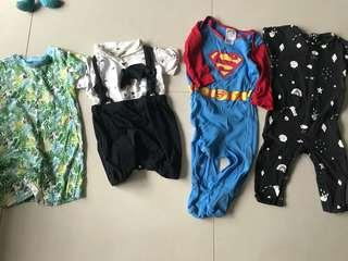 Bundle of Like New Baby Clothes 9-12 months