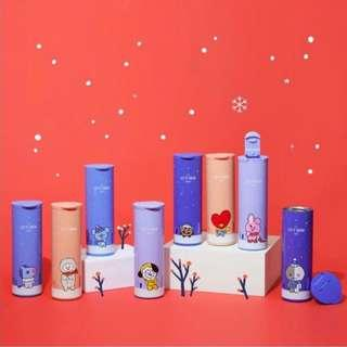 (Pre-Order) Official BT21 Christmas/Winter Thermos Bottle - 460ml - Koya