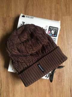 Knit Cap w Earphones