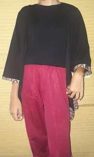 Black ethnic outer