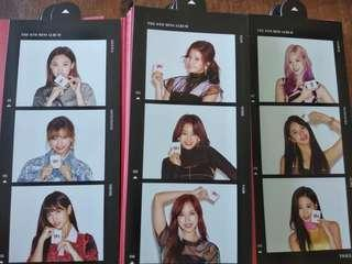 TWICE YES OR YES CARD